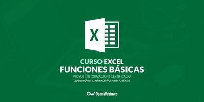 Curso de Excel: Funciones básicas