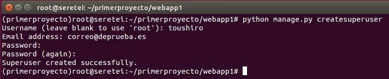 Imagen 20 en Cómo instalar Django 1.9 en Ubuntu 15.10