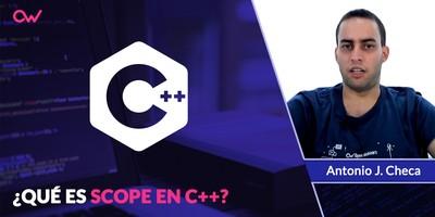 Qué es Scope en C++