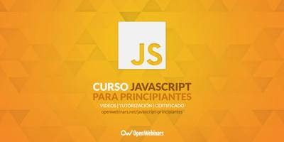Curso de JavaScript para principiantes