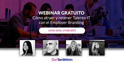 Webinar: Cómo atraer y retener Talento IT con el Employer Branding