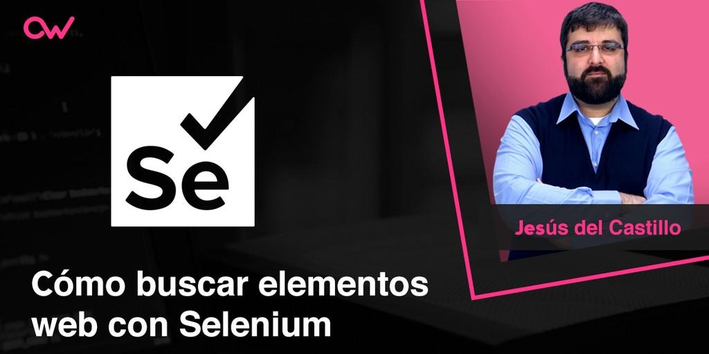 Cómo buscar elementos web con Selenium