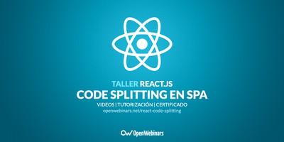 Code splitting en SPA con React