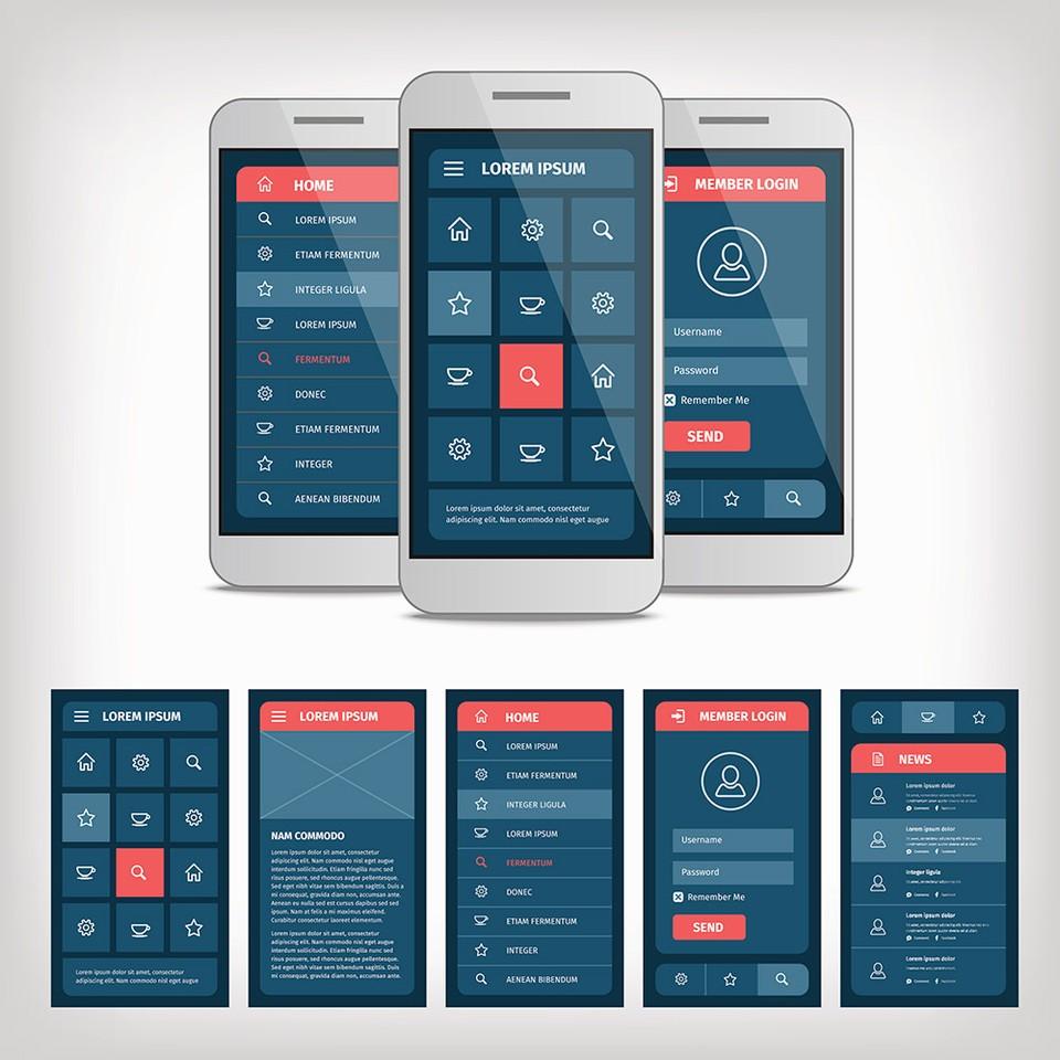 focus on interface design