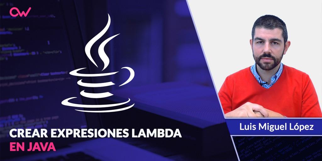 Crear expresiones lambda en Java