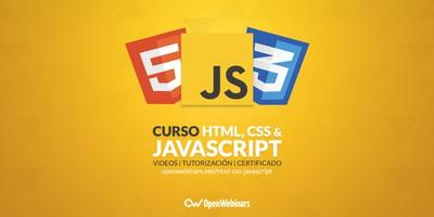 Curso de HTML5, CSS3 y JavaScript