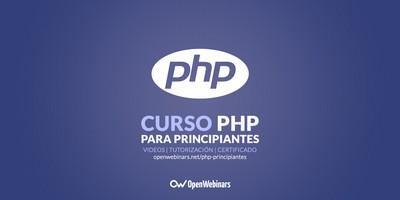 Curso de PHP para principiantes