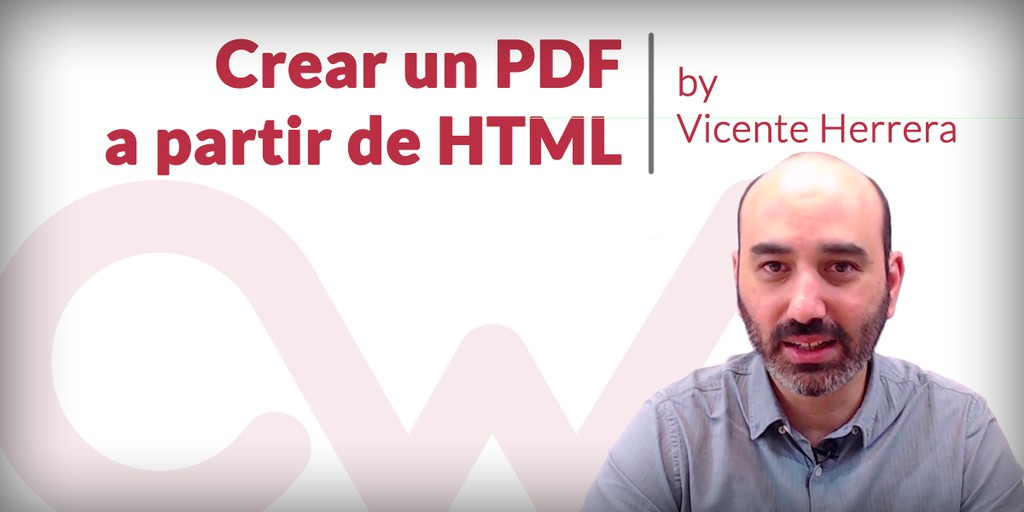 Crear PDF a partir de un HTML, en PHP