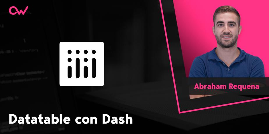 Cómo crear un Datatable con Dash