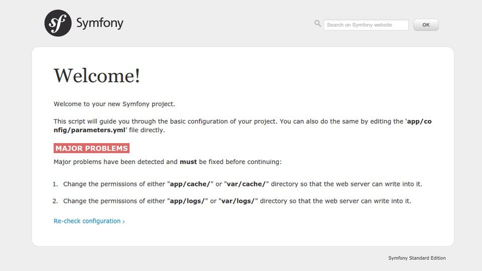Imagen 0 en Symfony2 Tutorial: Introducción, instalación y configuración