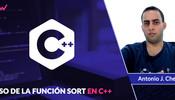 Uso de la función Sort en C++