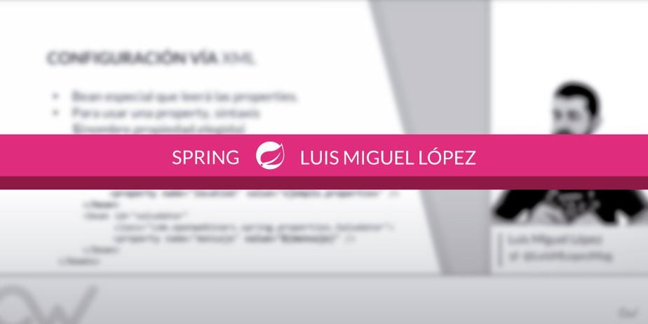 Cómo usar fichero properties en Spring