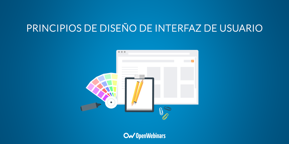 Principios de diseño de interfaz de usuario