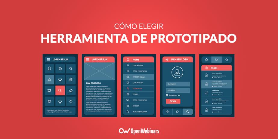 Elegir la herramienta de prototipado más adecuada