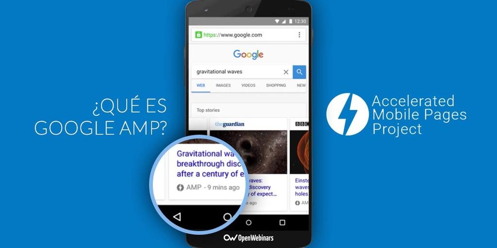¿Qué es Google AMP?