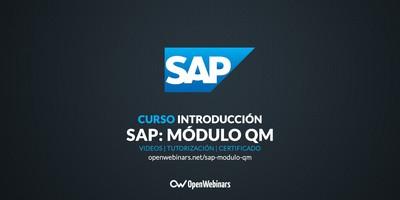 Curso SAP: Introducción al módulo QM