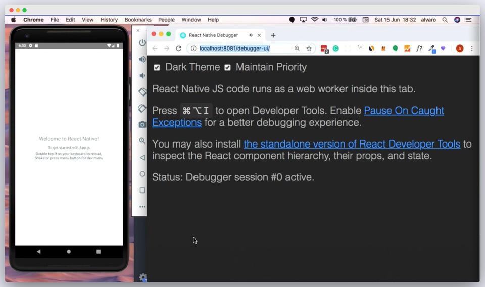 Imagen 3 en Herramientas de desarrollo para React Native