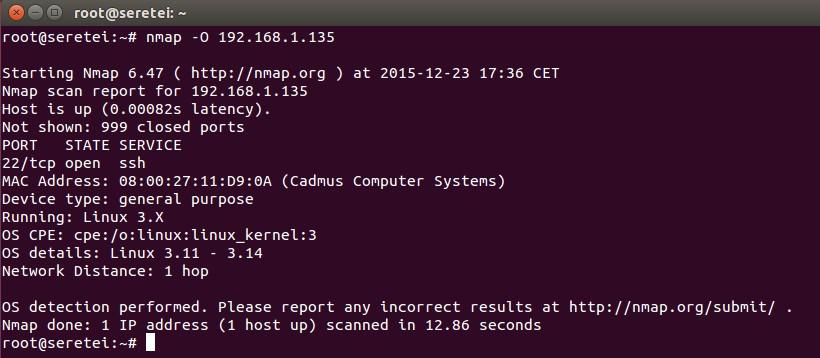Imagen 10 en Nmap, uso básico para rastreo de puertos