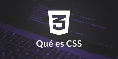 Qué es CSS