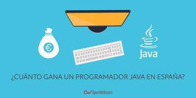 ¿Cuánto gana un programador Java en España?