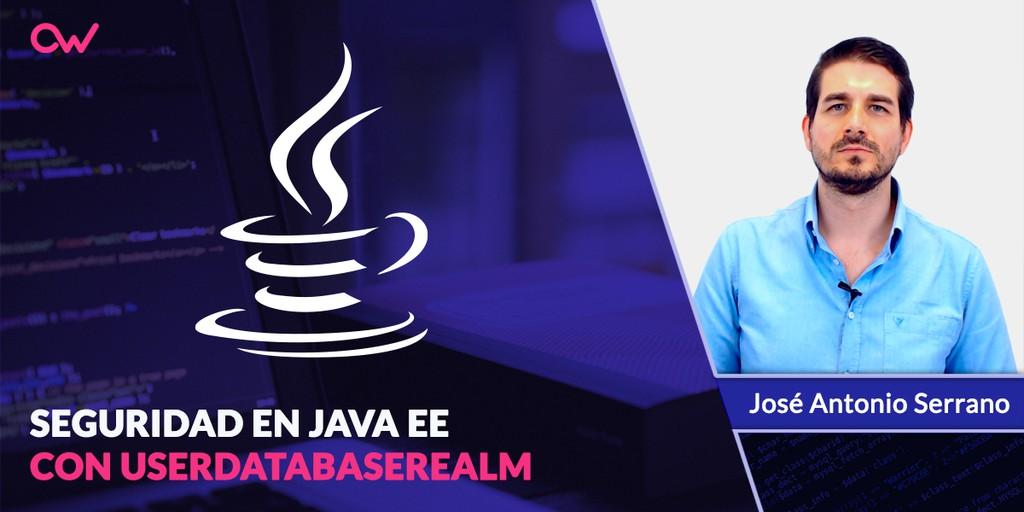 Seguridad en Java EE con UserDatabaseRealm