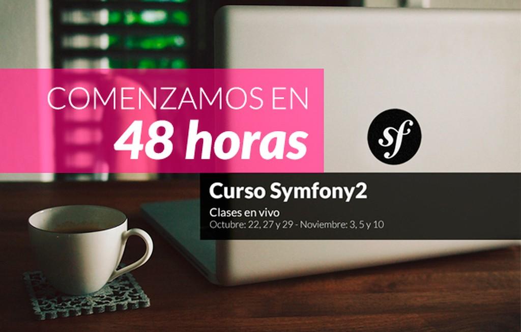 Curso Symfony2: ¡comenzamos en 48 horas!