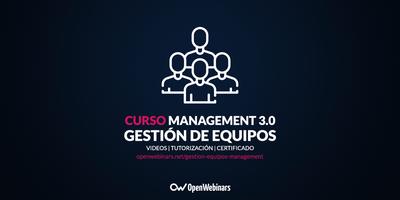 Curso de gestión de equipos con Management 3.0