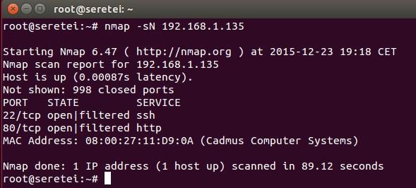 Imagen 29 en Nmap, uso básico para rastreo de puertos