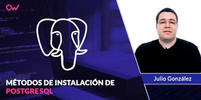 Cómo instalar PostgreSQL: Tres opciones