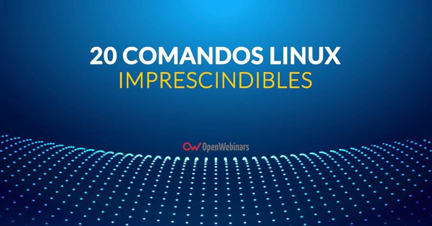 20 Comandos Linux imprescindibles para un Sysadmin