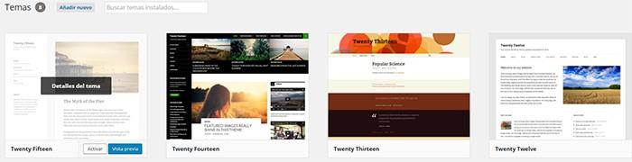 Imagen 10 en WordPress Tutorial: Instalar themes