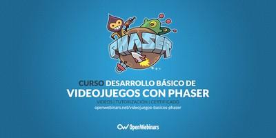 Curso de desarrollo de videojuegos básicos con Phaser