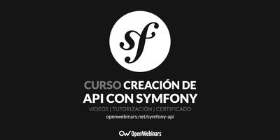 Curso de creación de API en Symfony 3