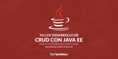 Desarrollo de CRUD con Java EE