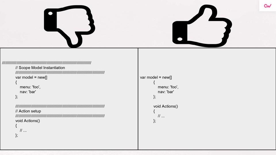 Imagen 1 en Comentarios en el código: sí o no- Refactoring & Clean Code