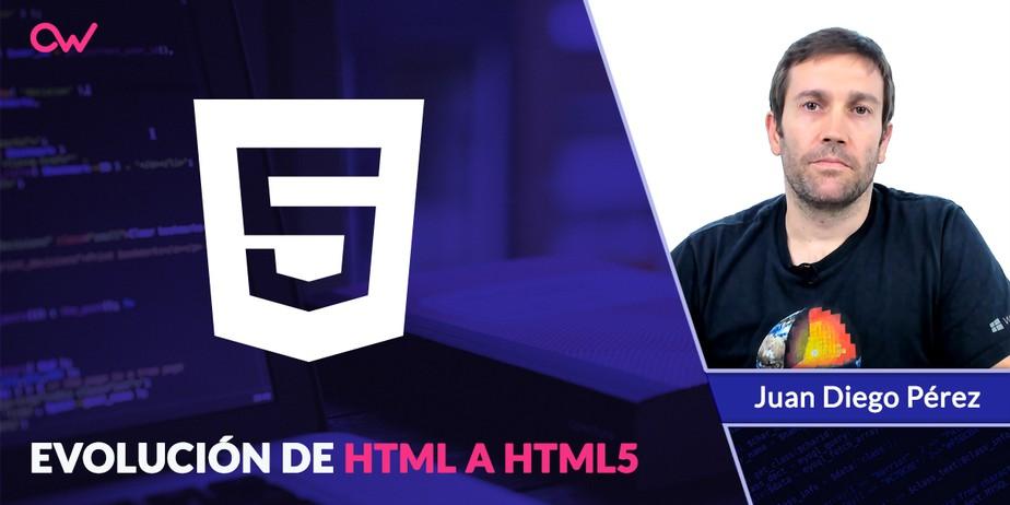 Los cambios de HTML y HTML5 y su evolución