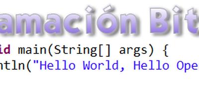Programación bit a bit: Control de Flujo