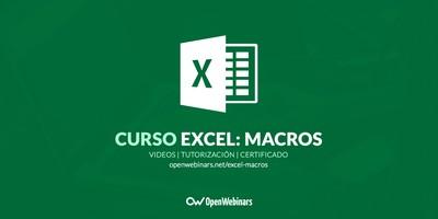 Curso de Excel: Macros