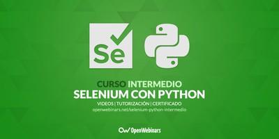 Curso de Selenium con Python intermedio