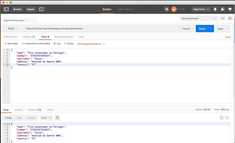 Imagen 2 en Construir API con Firebase Cloud functions