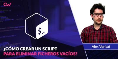 Cómo crear un script para eliminar ficheros vacíos