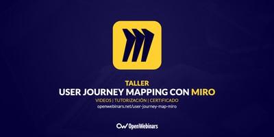 User journey mapping en remoto con Miro