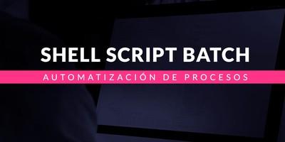 Automatización de procesos con Shell Script Batch