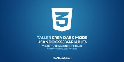 Crea Dark Mode usando CSS3 variables
