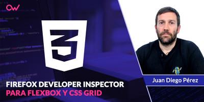 Firefox Developer Inspector para Flexbox y CSS Grid