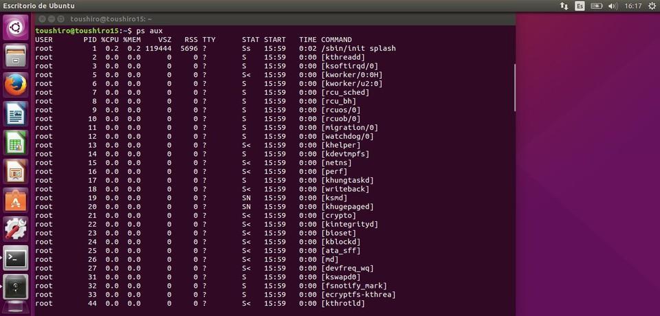 Imagen 2 en 20 comandos para administrar y gestionar facilmente los procesos en Linux