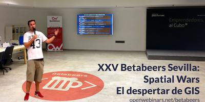 Vídeo Betabeers Sevilla edición XXV: Charla: Procesamientos GIS distribuidos