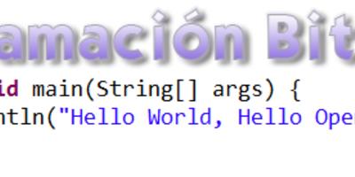 Programación bit a bit: Objetos y Clases