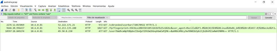 Imagen 1 en Wireshark: Qué es y ejemplos de uso