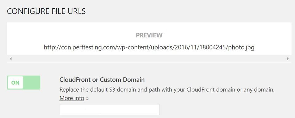 Imagen 6 en CloudFront en WordPress con el plugin WP Offload S3